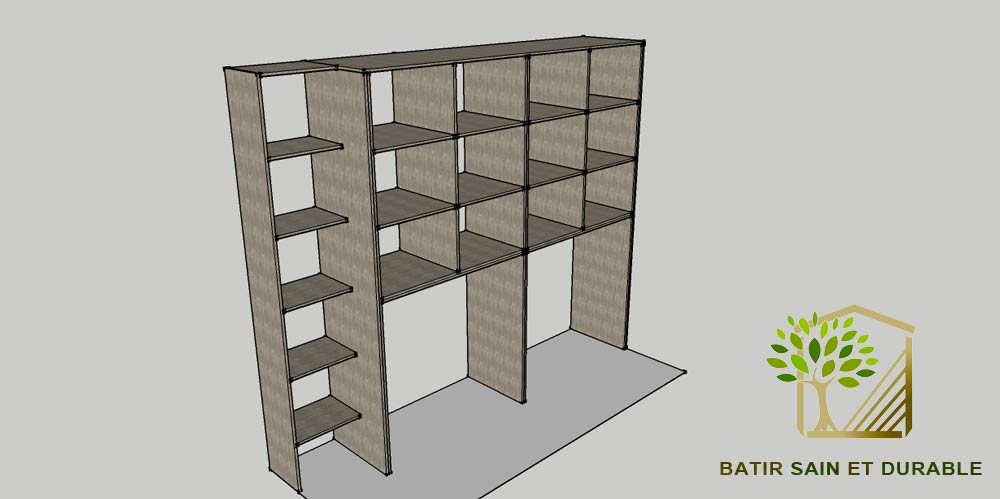 cr ation d 39 un dressing. Black Bedroom Furniture Sets. Home Design Ideas