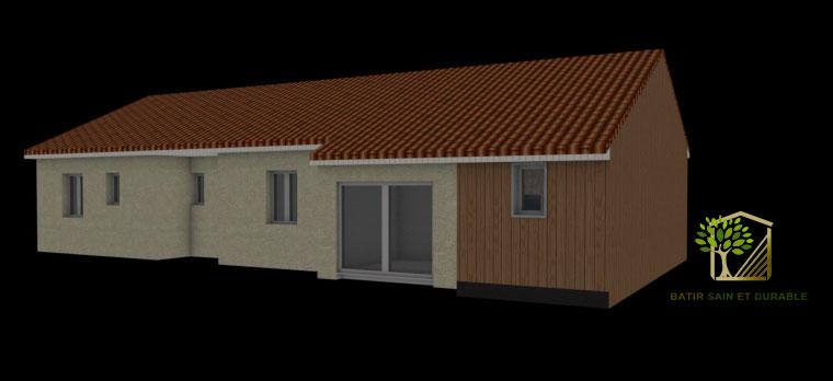 Extension bois d une maison individuelle for Batir une extension