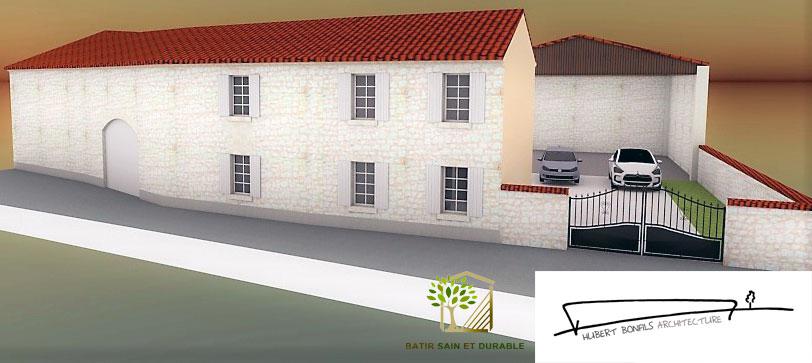Extension d une maison de bourg for Batir une extension
