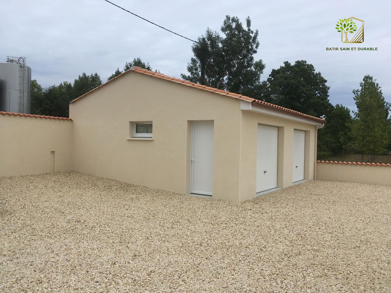 Les projets de geoffrey bouillon batir sain et durable - Construction d un garage ...